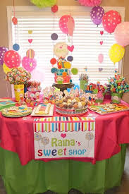 Candy Party Table Decorations 119 Best Sweets Shoppe Party Ideas Images On Pinterest Birthday