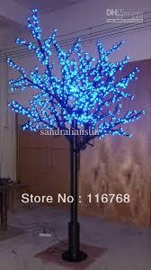 2017 top quality 2 5m blue outdoor lighting led cherry tree light