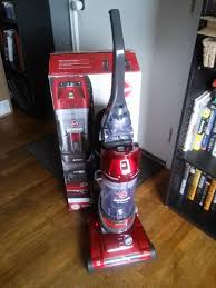 Hover Vaccum Hoover Elite Rewind Bagless Upright Vacuum Uh71012 Review Youtube