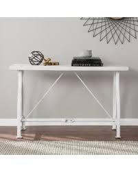 harper blvd dirby convertible console dining table deals on harper blvd juniper farmhouse style console table