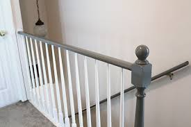 Banister Rail Black And White And Loved All Over Before U0026 After Carpeted