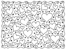 hearts coloring pages adults justcolor