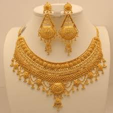gold bridal set 22 carat indian gold heavy bridal set 114 4 grams gold forever