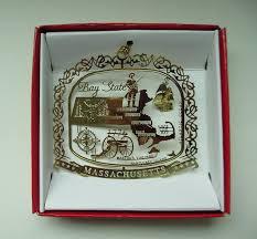 amazon com massachusetts state christmas ornament boston cape cod