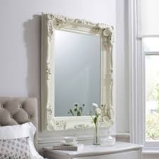 15 inspirations of french style wall mirrors carved louis cream antique french style wall mirror homesdirect365 with french style wall mirrors
