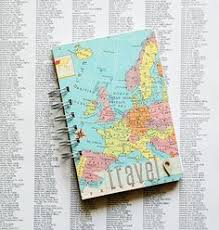 Travel Photo Album 4x6 World Map 4x6 Photo Album Aaa Travel Agency Vacation Memory Book