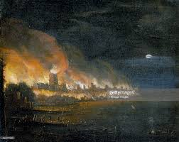 Looking Down Stairs by The Great Fire Of London 1666 U0027 C1666 Pictures Getty Images