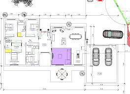 plan maison contemporaine plain pied 3 chambres plans maisons modernes plan au sol du plan de maison moderne avec