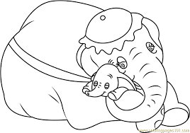 dumbo coloring pages coloring