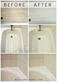 my secret for a sparkling clean bathtub