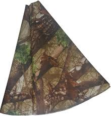 camouflage christmas tree skirt 46 inch rustic country christmas