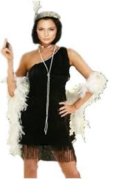 free shipping 459 g58 1920s roaring 20s black red flapper costume