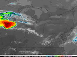 United States Storm Map by Intense Storms Called A