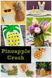 Pineapple Home Decor Pineapple Crush Free Pineapple Applique Decor Pineapple Home
