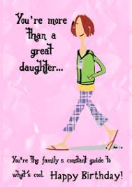 daughter u0027s birthday card a birthday card for your daughter