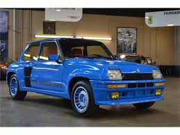 renault turbo for sale 1983 renault r5 turbo ii for sale classiccars com cc 965589
