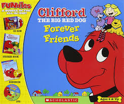 clifford halloween book amazon com clifford the big red dog forever friends old version