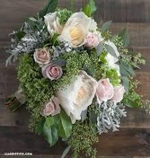 Bouquet Diy Diy Bridal Bouquet With Fresh And Crepe Paper Flowers Crepe
