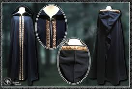 ritual robes and cloaks fleece cloak with braid ritual robes handfasting witch