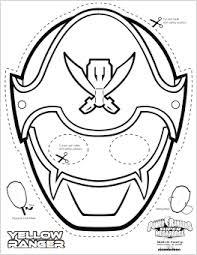 super mega power rangers printable coloring masks mommy