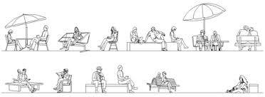 persona seduta dwg persone sedute dwg