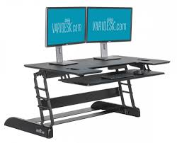 varidesk exec 48 sit stand workstation review