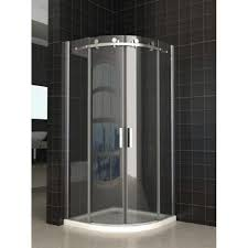 Curved Shower Doors Fleurco Fax364 Signature Arc 36 Frameless Curved Glass