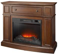 Fireplace With Blower by Essential Home Shaw Electric Fireplace Cherry Shop Your Way