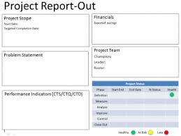 six sigma dmaic project report template six sigma