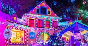 ethel m chocolate factory las vegas holiday lights las vegas christmas 2017 christmas lights shows events in vegas