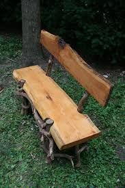 Rustic Oak Bench 71 Best Log Benches Seats U0026 Stools Images On Pinterest Log