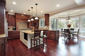 Wood Floors In Kitchen Kitchen Outstanding Wood Kitchen Cabinets With Floors Gorgeous