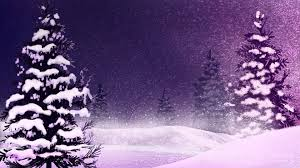winter winters dream firefox persona purple snow christmas winter
