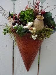 basket home decor floral arrangement wall pocket floral basket birthday gift home