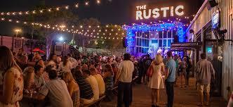 Patio Bars Dallas The Rustic Kitchen Backyard Bar Live Music Dallas Tx