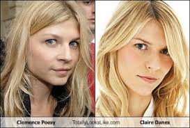Claire Danes Cry Face Meme - clemence poesy totally looks like claire danes totally looks like