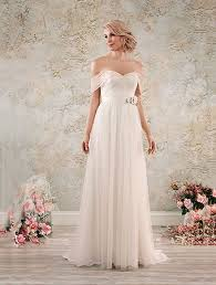 alfred angelo vintage lace wedding dresses a length boho chic wedding dress with the shoulder