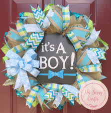 baby shower wreath it s a boy wreath baby shower wreath baby arrival wreath