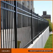 exterior wrought iron fence design for garden homes villas school