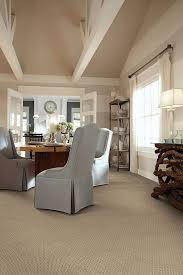 Carpeted Dining Room Carpeting In The Caress Collection In Style Suede By Shaw