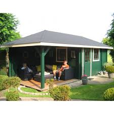 bertsch terni log cabin and gazebo combination enclosed room and