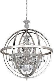 Brushed Nickel Chandeliers Chandelier Awesome Brushed Nickel Crystal Chandelier Brushed