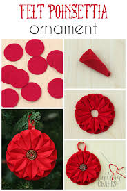 Easy Home Made Christmas Decorations by Best 25 Fabric Christmas Ornaments Ideas Only On Pinterest
