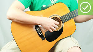 3 ways to play the acoustic guitar wikihow