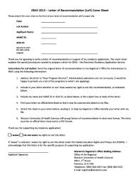 eras cover letter eras letter of recommendation sample medical