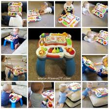 infant activity table toy lots of ideas for how to use a baby play table based on your child s