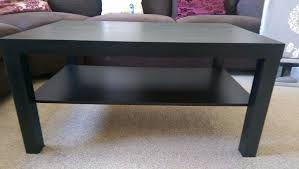 ikea black brown lack side table brand new ikea lack coffee table black brown side table dark