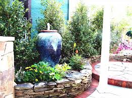 Beautiful Front Yard Landscaping - yard landscape design with fountain ideas for small backyard