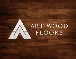 wood floors logo design flooring company in union grove