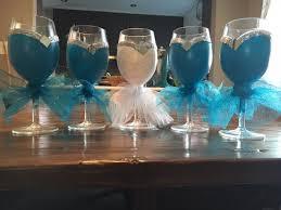 wine glass party favor bridal party favors hometalk